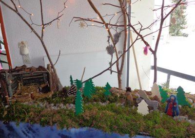 Grundschule Dietingen Kreativ AG Weihnachtskrippe (1)