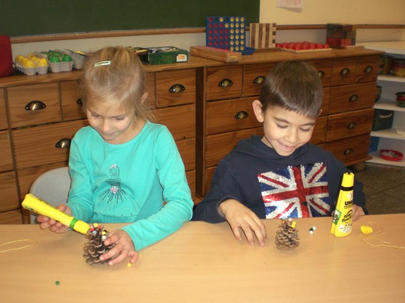 Adventsbasteln Grundschule Dietingen