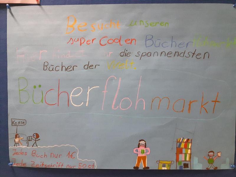 Bücherflohmarkt Böhringen Oktober 2018