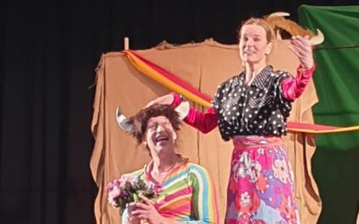 Farbenfrohes Kindertheater