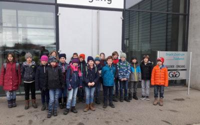 Besuch im Druckzentrum des Schwarzwälder Boten