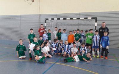 Großer Einsatz beim Fußball-Grundschulcup