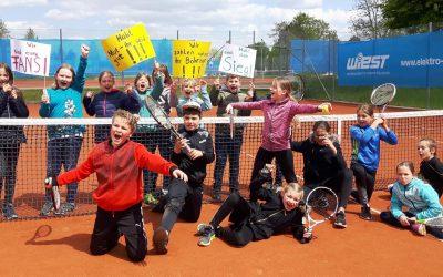 Großer sportlicher Erfolg und Erfahrungszuwachs beim Tennisturnier