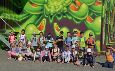 Besuch der Graffiti-Ausstellung REVOLTE!