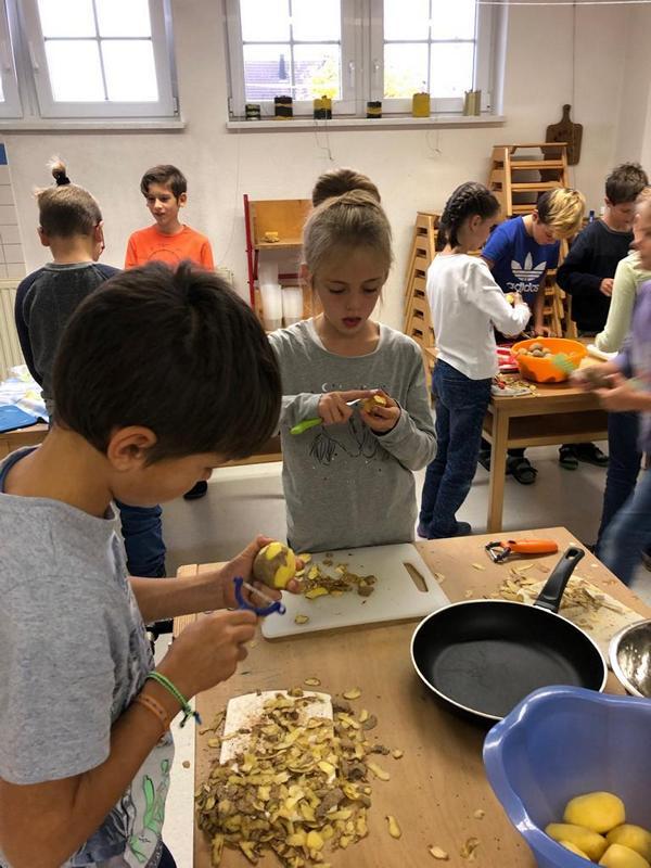 Rund um die Kartoffel - Grundschule Dietingen