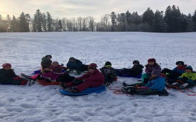 Winterfreude pur in Irslingen und Gösslingen